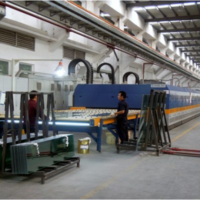 TAMGLASS Double Chamber Tempering Line