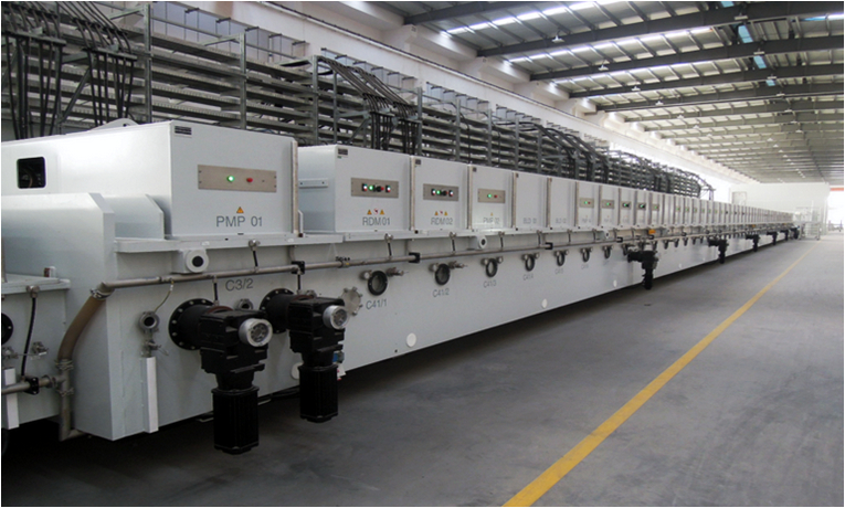 VON ARDENNE Low-E coating Line 2