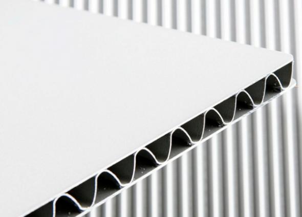 Aluminum Corrugated Panel Shenzhen King Glass Amp Hardware